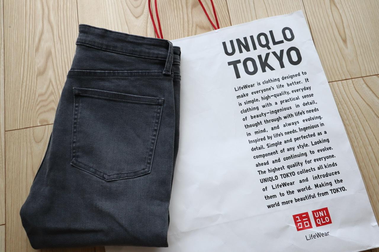 《新たな神デニム⁈❤️》【UNIQLO】で買い足したグレーデニムが可愛すぎる☻_1