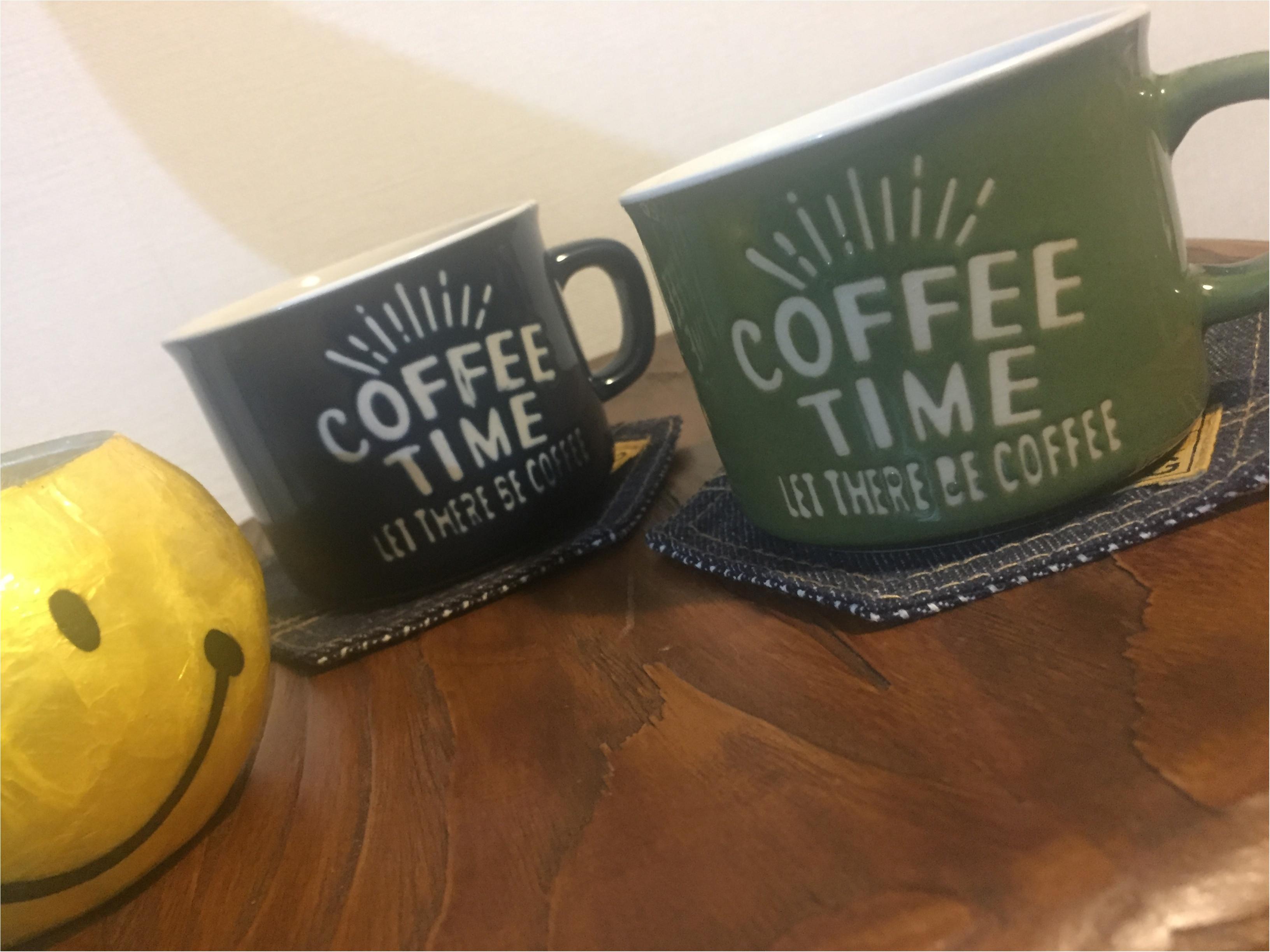 お家のコーヒータイムをもっとお洒落に...❤︎こちらの『カフェ風マグカップ』をなんと『100円ショップ』で購入してきました!_2