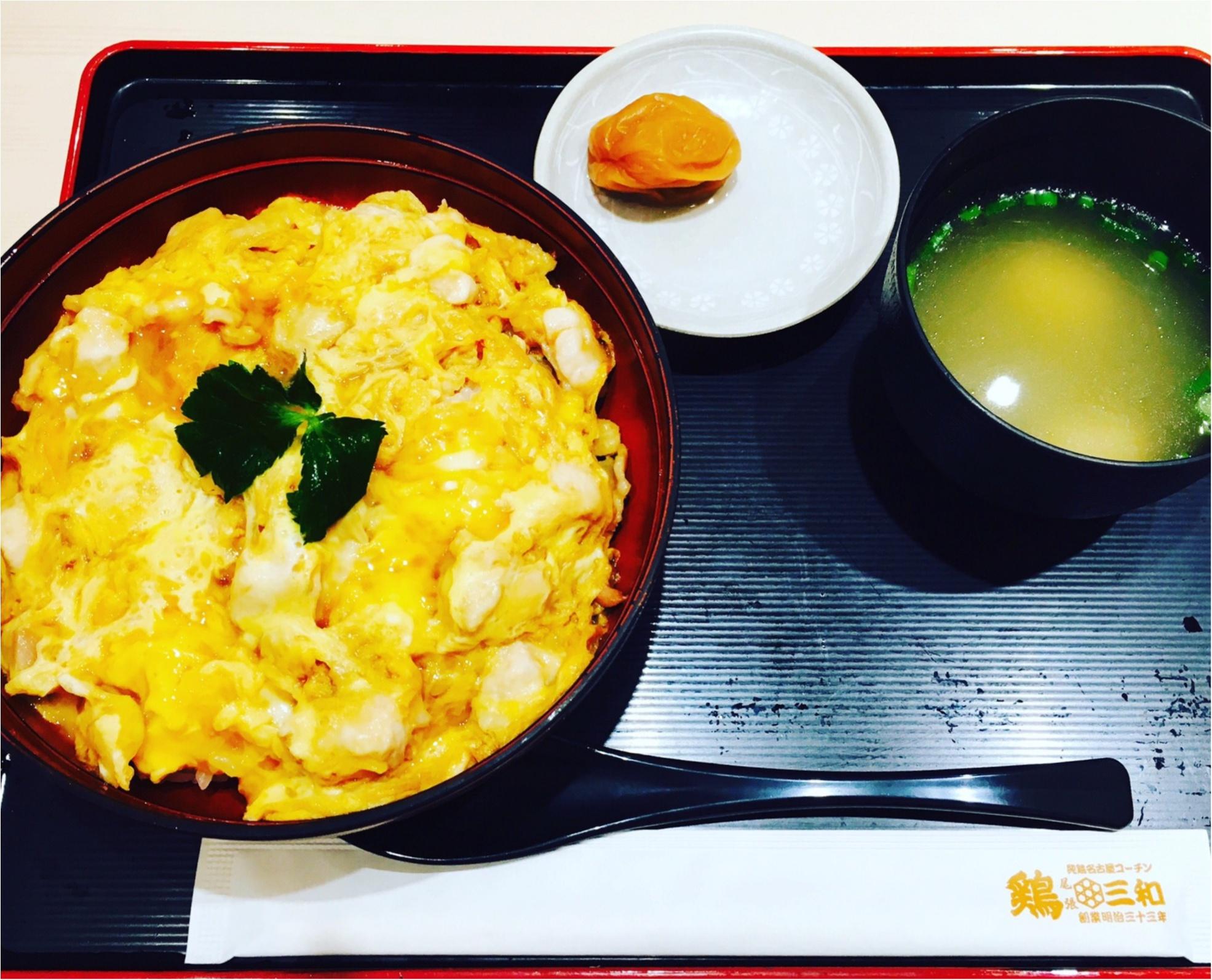 【鶏三和】の≪名古屋コーチン親子丼≫が美味しすぎる!期間限定の≪月見鶏そぼろ親子丼≫もオススメ!_1