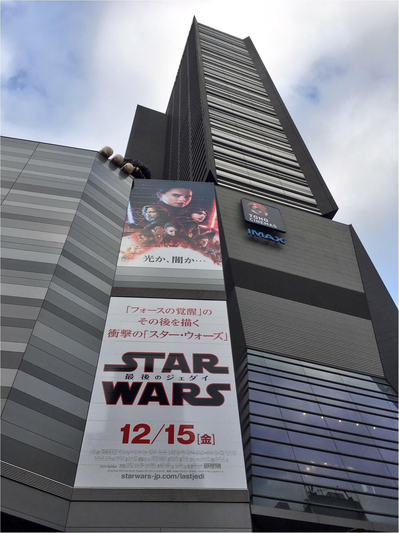 Star Wars最新作『The  Last Jedi』を見てきました!☆_1
