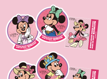 ミニーマウスが『ルミネエスト新宿』&『アイルミネ』をジャック♡ 各ブランドの限定アイテムをチェック!