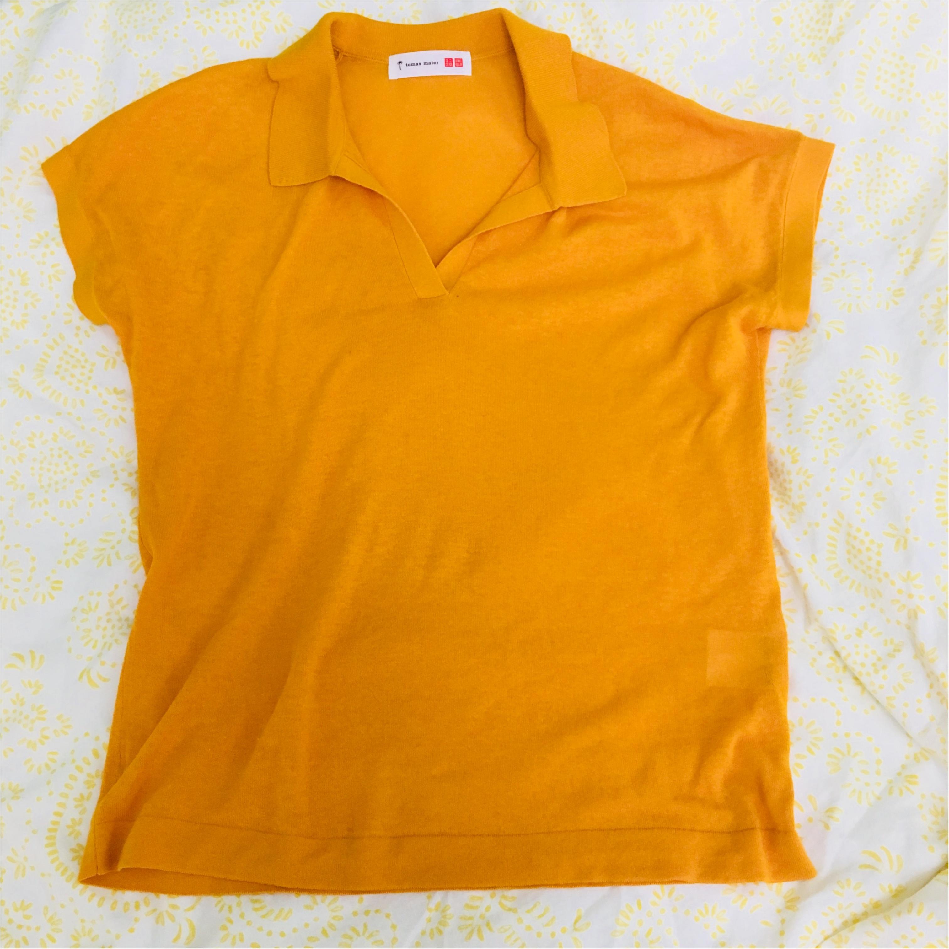 ≪UNIQLO≫で買った、Tomas maierのポロシャツが秀逸!涼しくてとってもオススメです♡_2