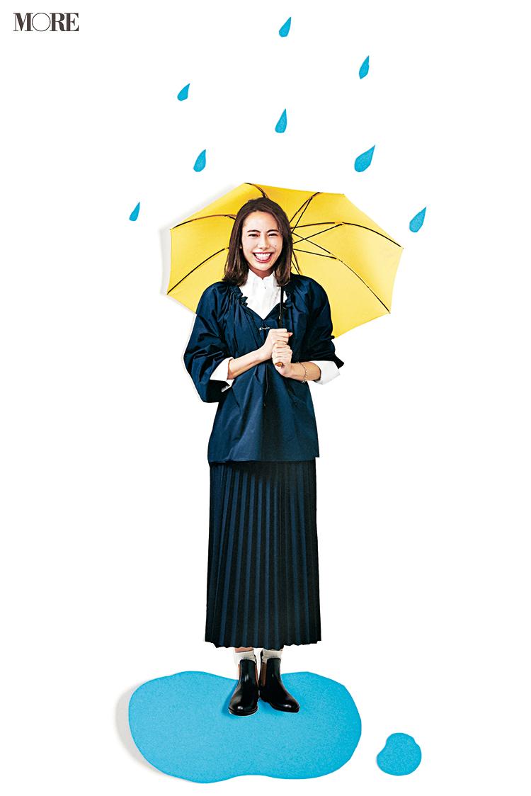 """雨の日が楽しみになるかも♬ """"きれいめだけど撥水""""なお仕事もOKアイテム集めました!_1"""