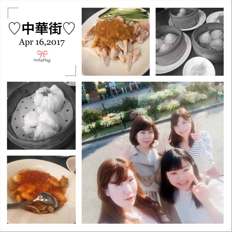 ♡中華街でモアハピ女子会してきました!!たくさんあるお店でおすすめの食べ放題のお店とは??♡_1