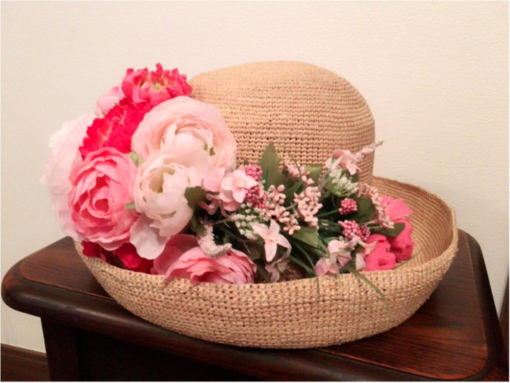 ♡麦わら帽子を作ったよ♡_1