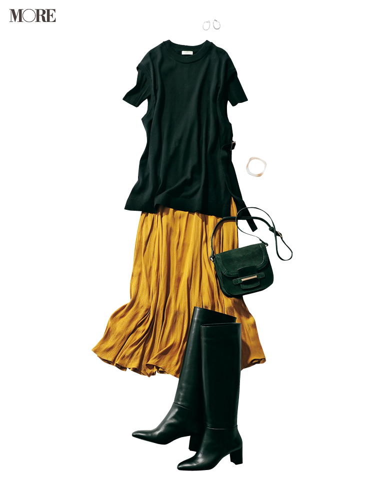 【着回しまとめ】9/19(土)〜9/27(日)のスカート派りな『秋ボトムに何合わせてく? 着回し』全部見せ!_1_2