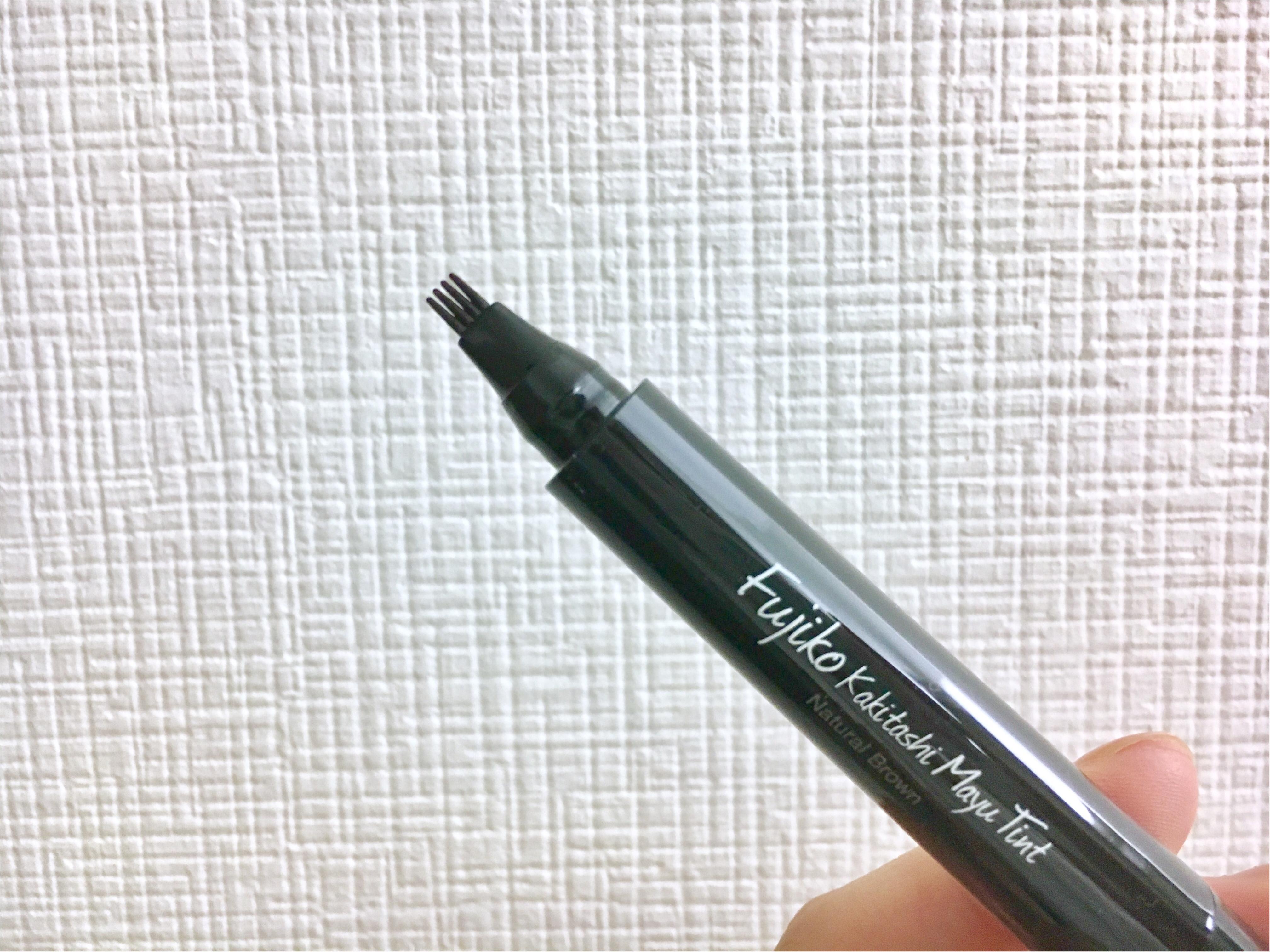 【眉のお悩み解決❤️】話題の《フジコ書き足し眉ティント》使ってみました!_3