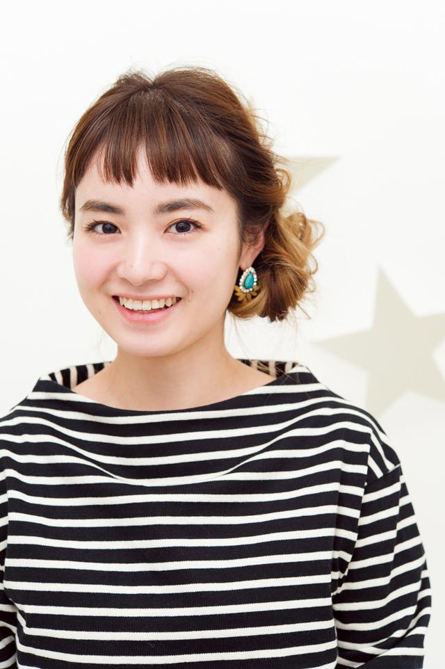 【美容師華アレンジ】ナチュラル可愛い こなれおだんごアレンジ_1
