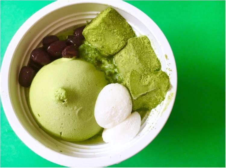 【セブンイレブン】超贅沢なかき氷がコンビニで買える❤️まるでパフェな《宇治抹茶氷》!!_2