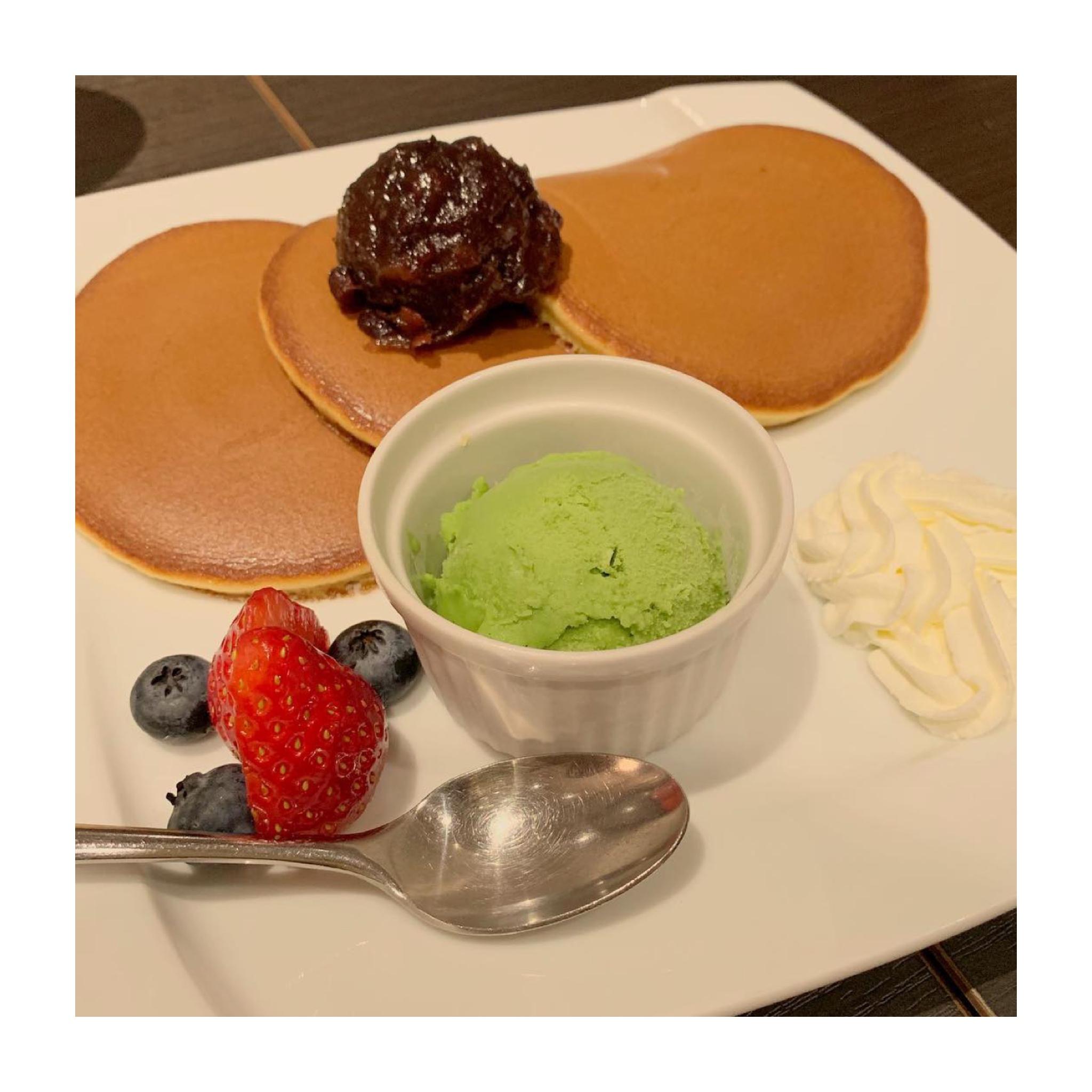 《ご当地MORE★東京》あのカステラで有名な【文明堂カフェ】のパンケーキが絶品なんです✌︎❤️_2