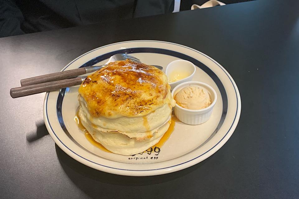 とろっふわっの極限♡甘党なら絶対食べるべき「eggg」のパンケーキが新食感すぎた_9