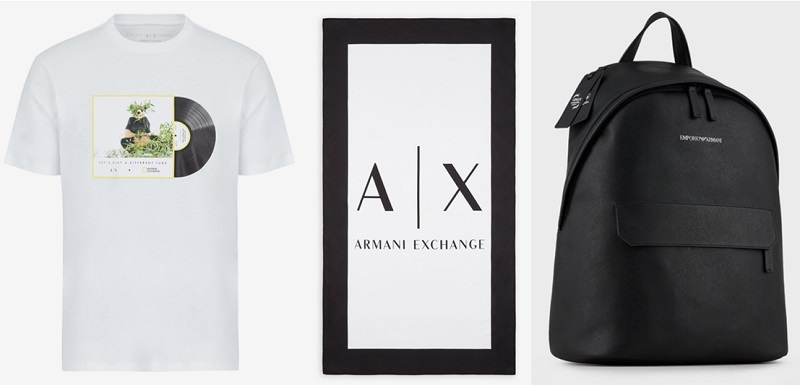 アルマーニ父の日ギフト。SDGsを意識したTシャツ、タオル、バッグ