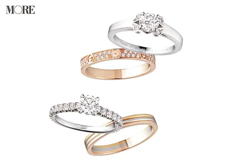 結婚指輪におすすめのカルティエのソリテールリングとLOVEリングとトリニティリング