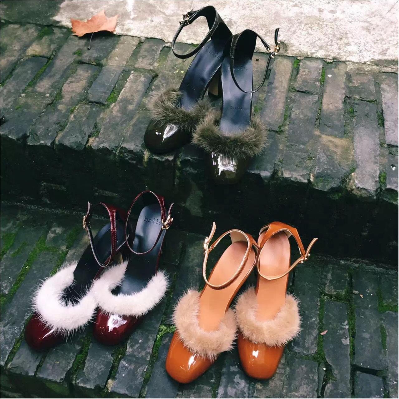 秋靴から小さい秋始めました。手持ちのレースアップシューズも秋顔に♪_1