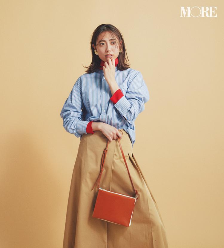 春のシャツコーデ特集《2019年版》- 20代女子におすすめ!オフィスカジュアルにちょうどいい きれいめシャツのコーディネートまとめ_2
