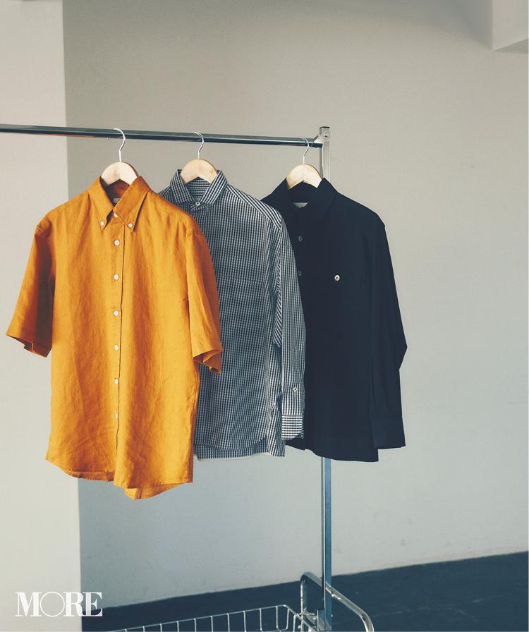ニットをしまってシャツを着よう!! 「ボックス型」と「バンドカラー」でシャツの楽しさ倍増計画_1_1