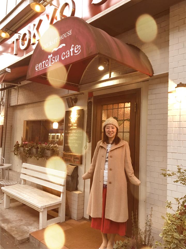 赤を着てでかけよう❤️暖炉のあるカフェであったかランチ。_14