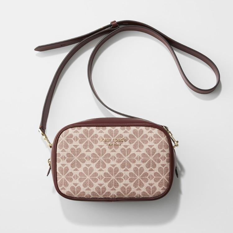 MOREプレゼントのケイトスペードニューヨークのピンクショルダーバッグ