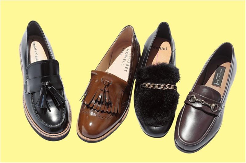 おじ靴派もバレエシューズ派も。秋冬フラット靴の注目株「モチーフつきローファー」をチェックすべし!_1_3