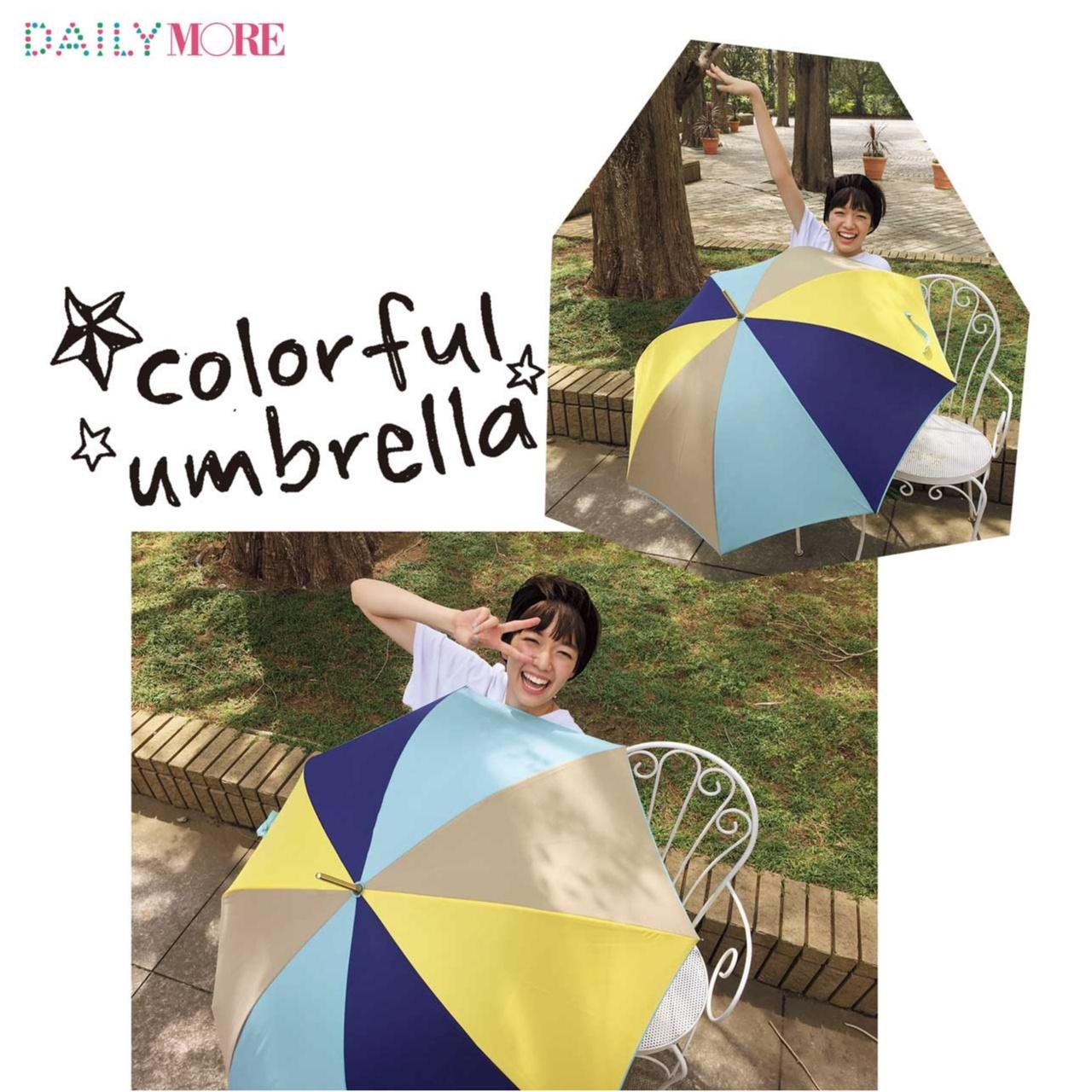 【梅雨時マストアイテム】栞里のキュート&カラフルな傘には、深イイ話がある!?_1