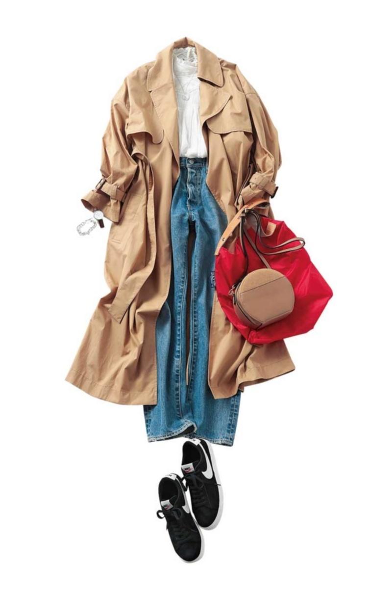 定番アウター【トレンチコート】の今どきコーデ10選    ファッション(2018年秋)_1_6