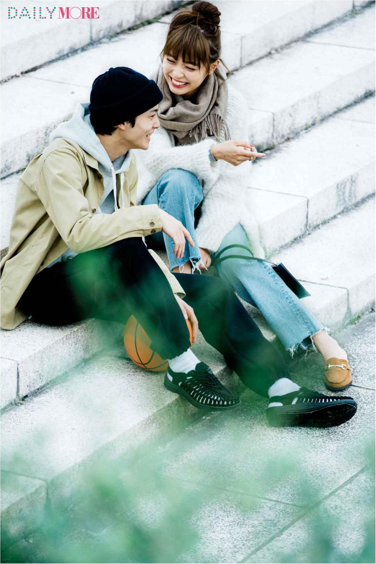 【今日のコーデ/内田理央】気になる男の子と遊びに行く日曜日は好印象カジュアルで決まり♪_1