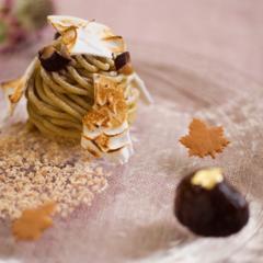 コース料理のようなデザートを!『ホテルブレストンコート』の秋の味覚をご堪能あれ