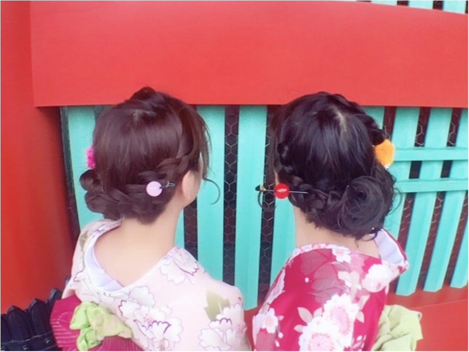 【レンタル着物】を着て浅草を満喫しました♡_3