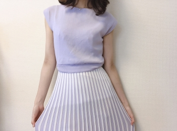 【ViS】ニットワンピースが大活躍!!