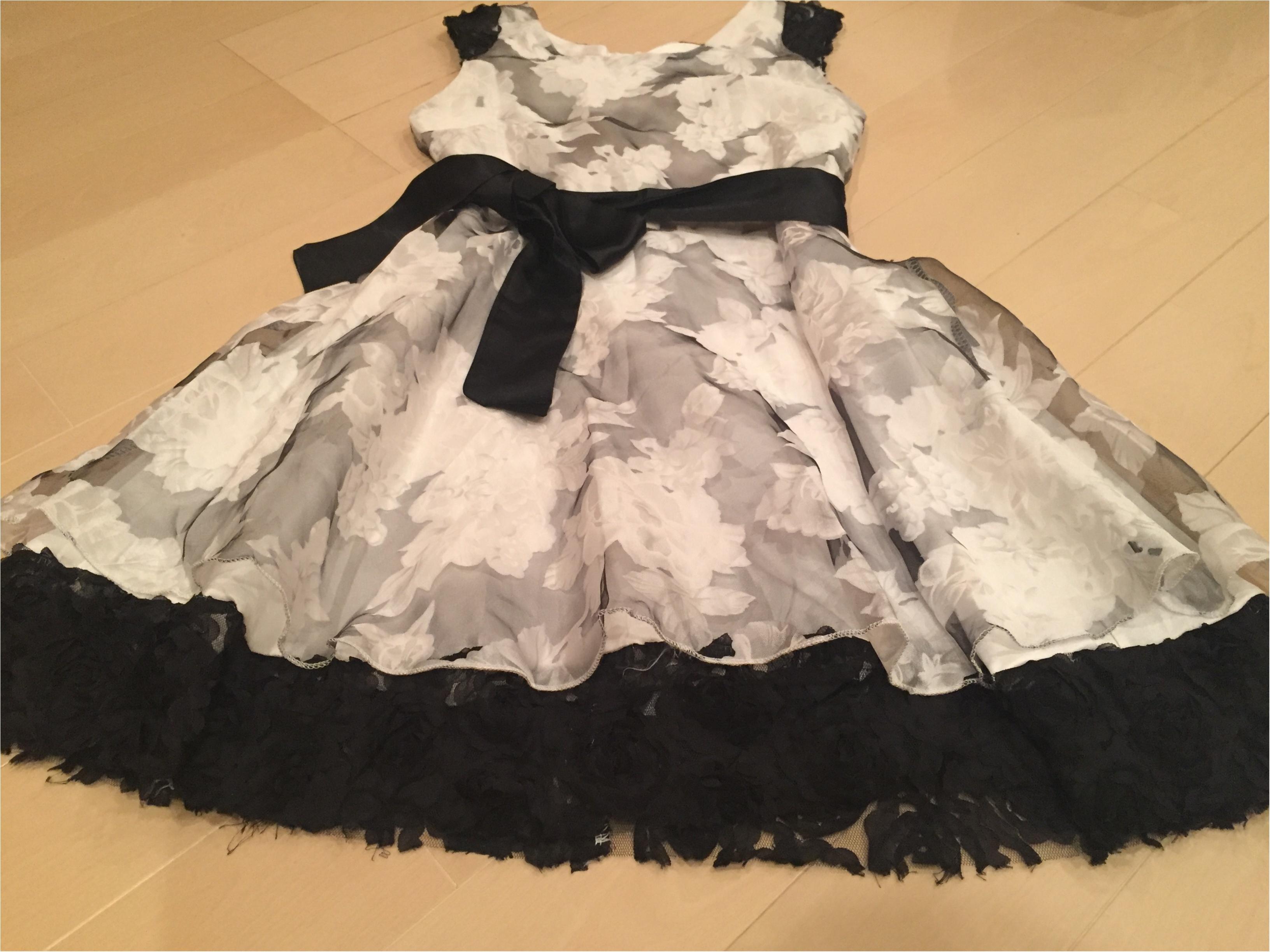 【プチプラ✨PARTYコーデ】¥3,780の花柄オーガンジードレス♡≪samenyan≫_3