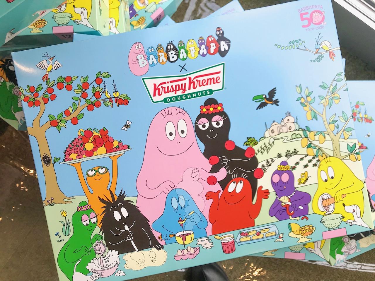 『クリスピー・クリーム・ドーナツ』の期間限定ドーナツに、バーバパパコラボが登場。可愛くてフルーティーな味わいにきゅん♡ PhotoGallery_1_2