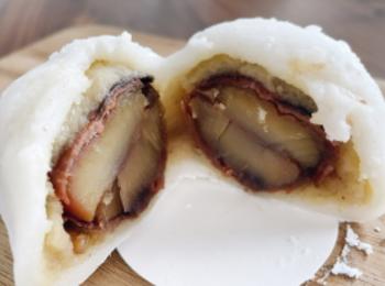 《絶対食べるべき》丸ごと一粒栗と栗餡が入った小布施堂の栗大福に大興奮❤︎