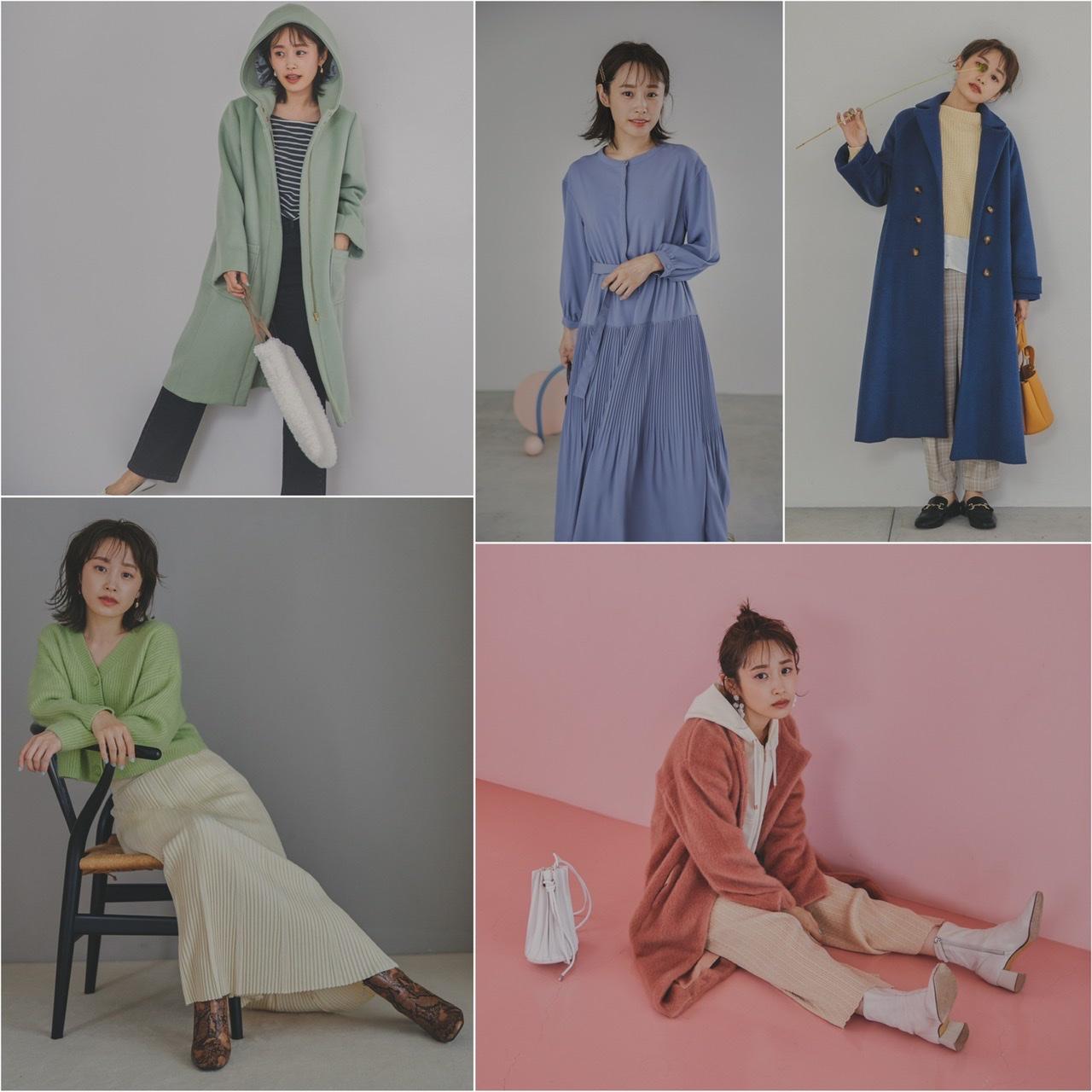 155cm以下のSサイズ女子向けブランド『COHINA』が、高橋愛さんを起用した2020年冬ルック公開! プレオーダーもスタート☆_2