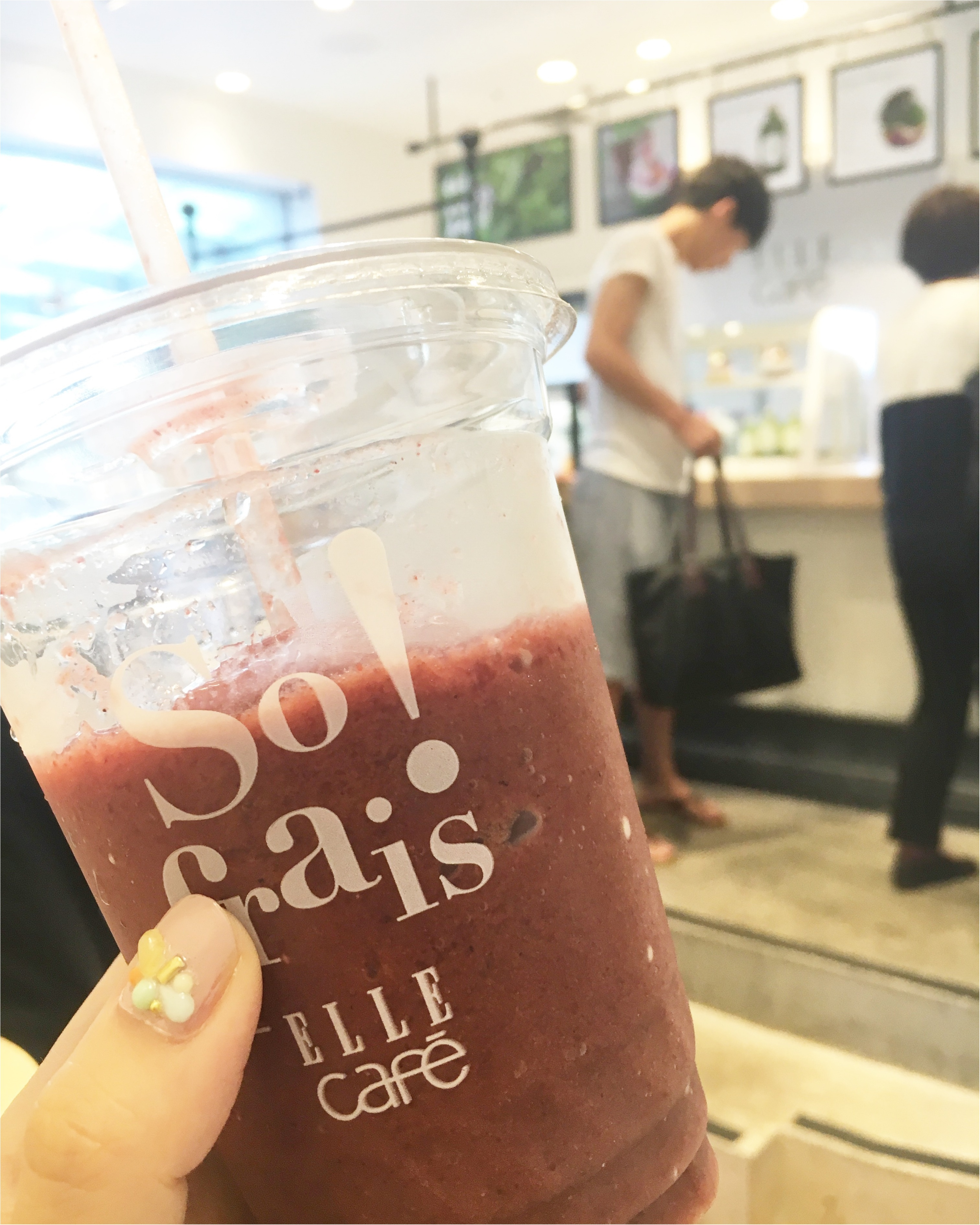 ELLE cafeでジュースクレンズを★_1