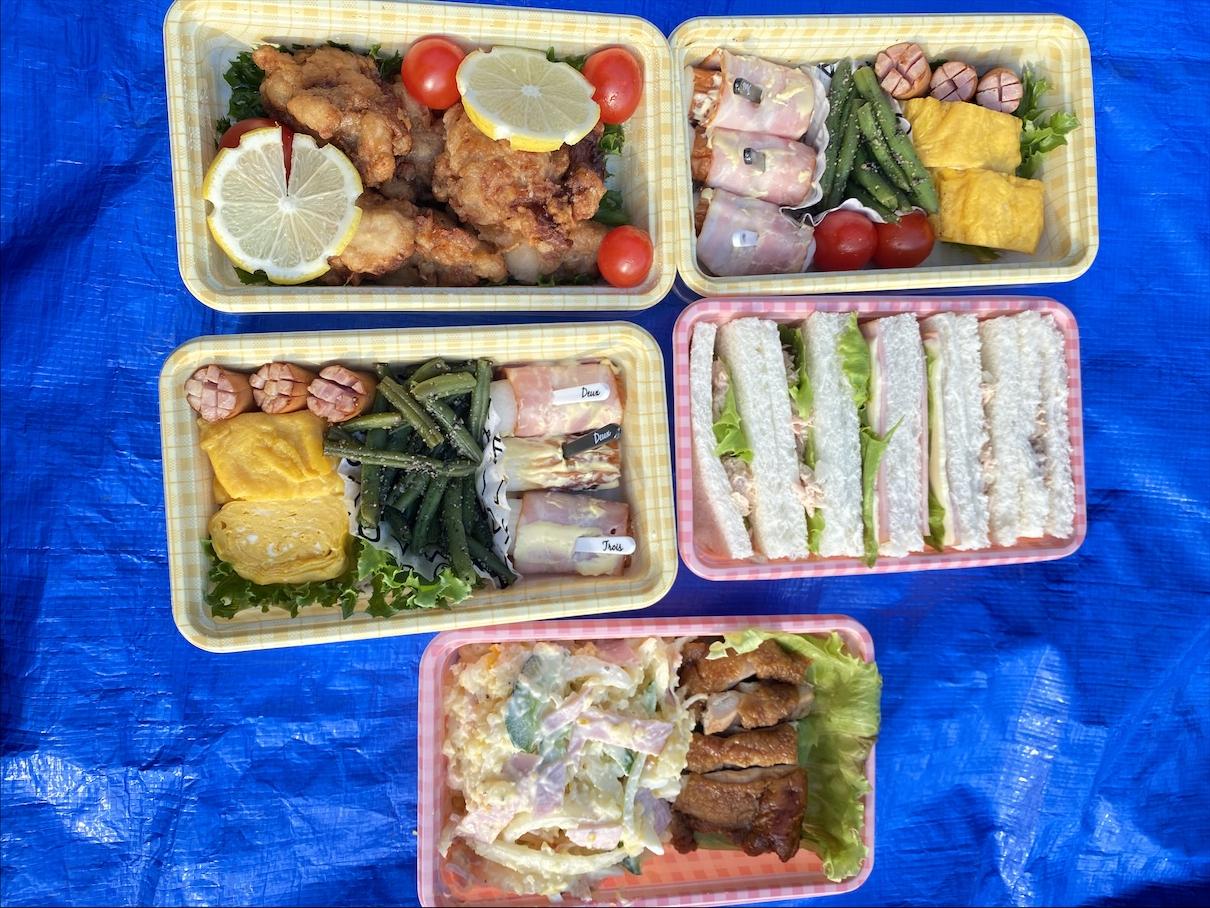 【ピクニック】栄養士が作る《時短》《簡単》お弁当作り!_1