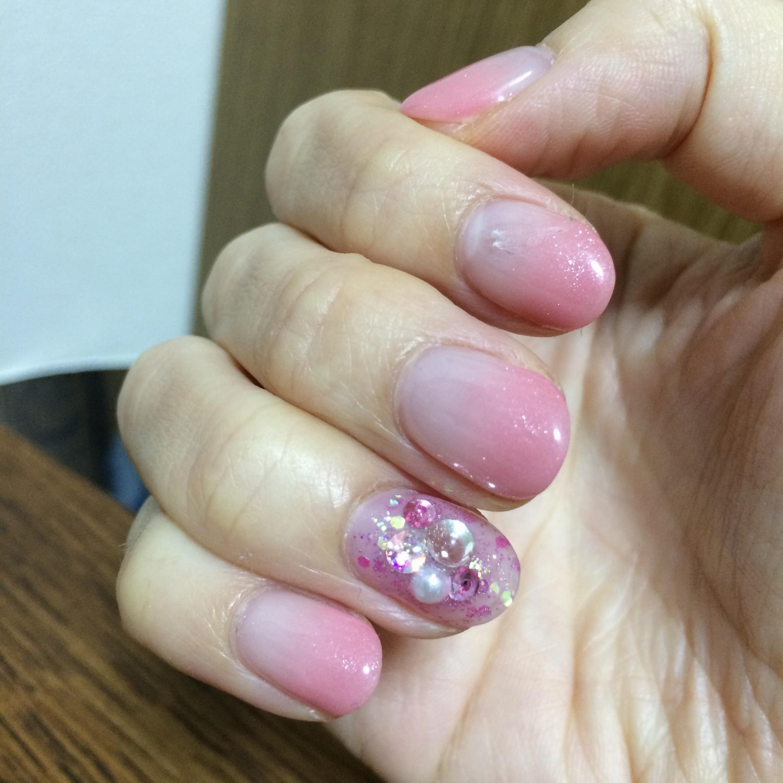 11月Nail*「#桜貝ピンクネイル 指先からハッとさせる、女性らしさを。」_3