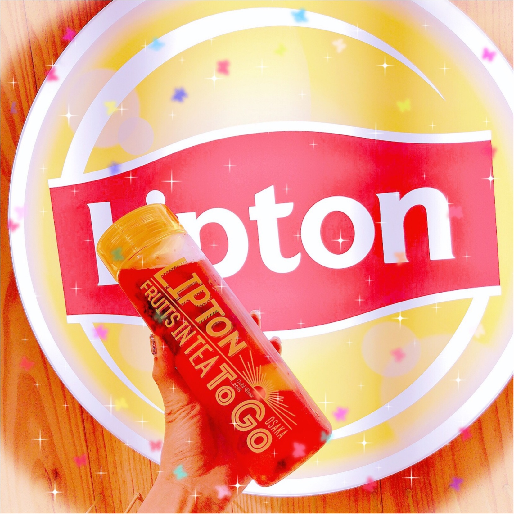 行って来ました♡大人気のLipton Fruits in tea_1