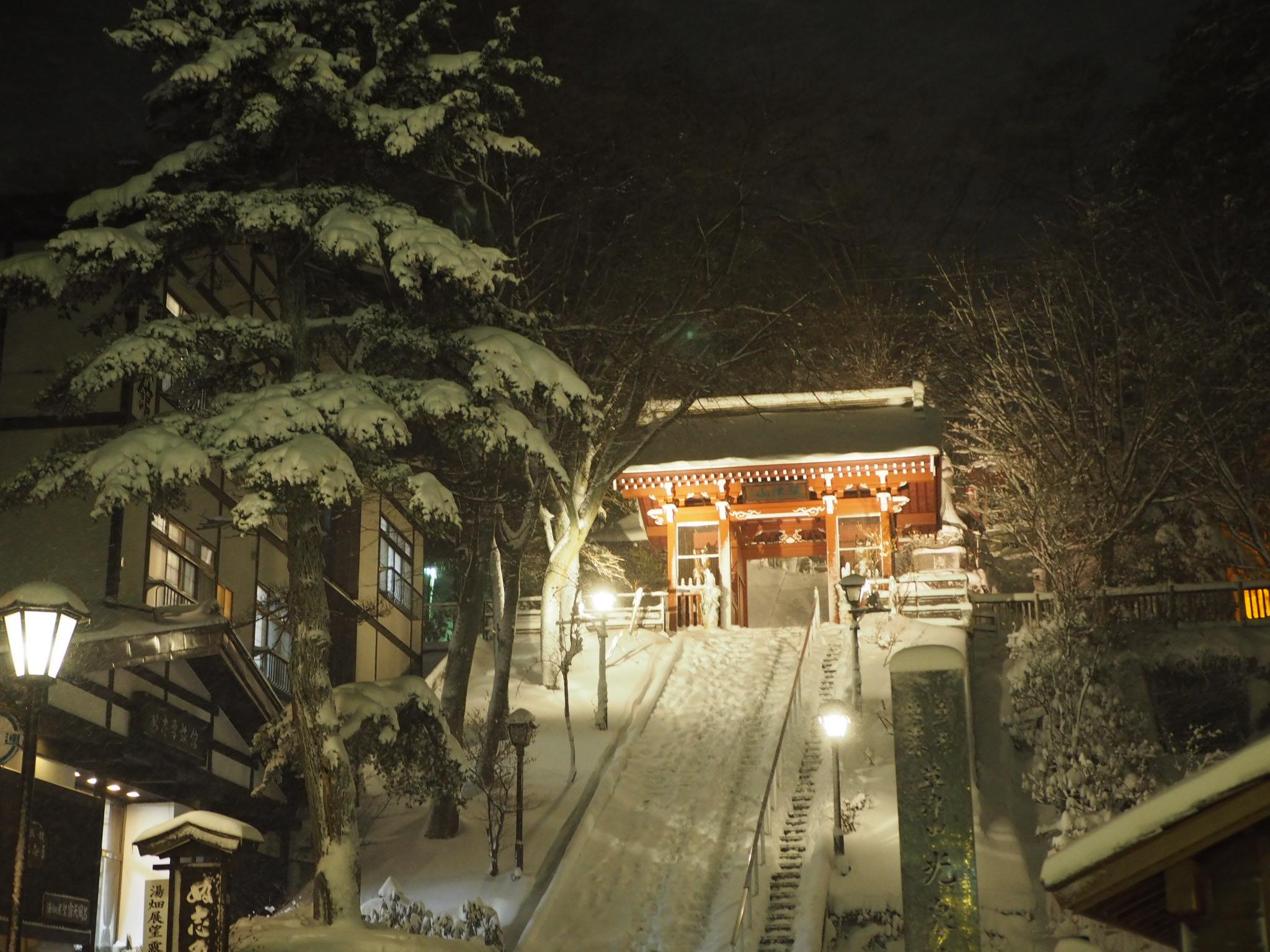 【草津温泉】雪景色がエモすぎる温泉旅♨︎♡_1