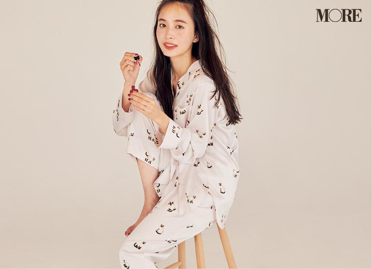 ジェラートピケの猫柄のパジャマ