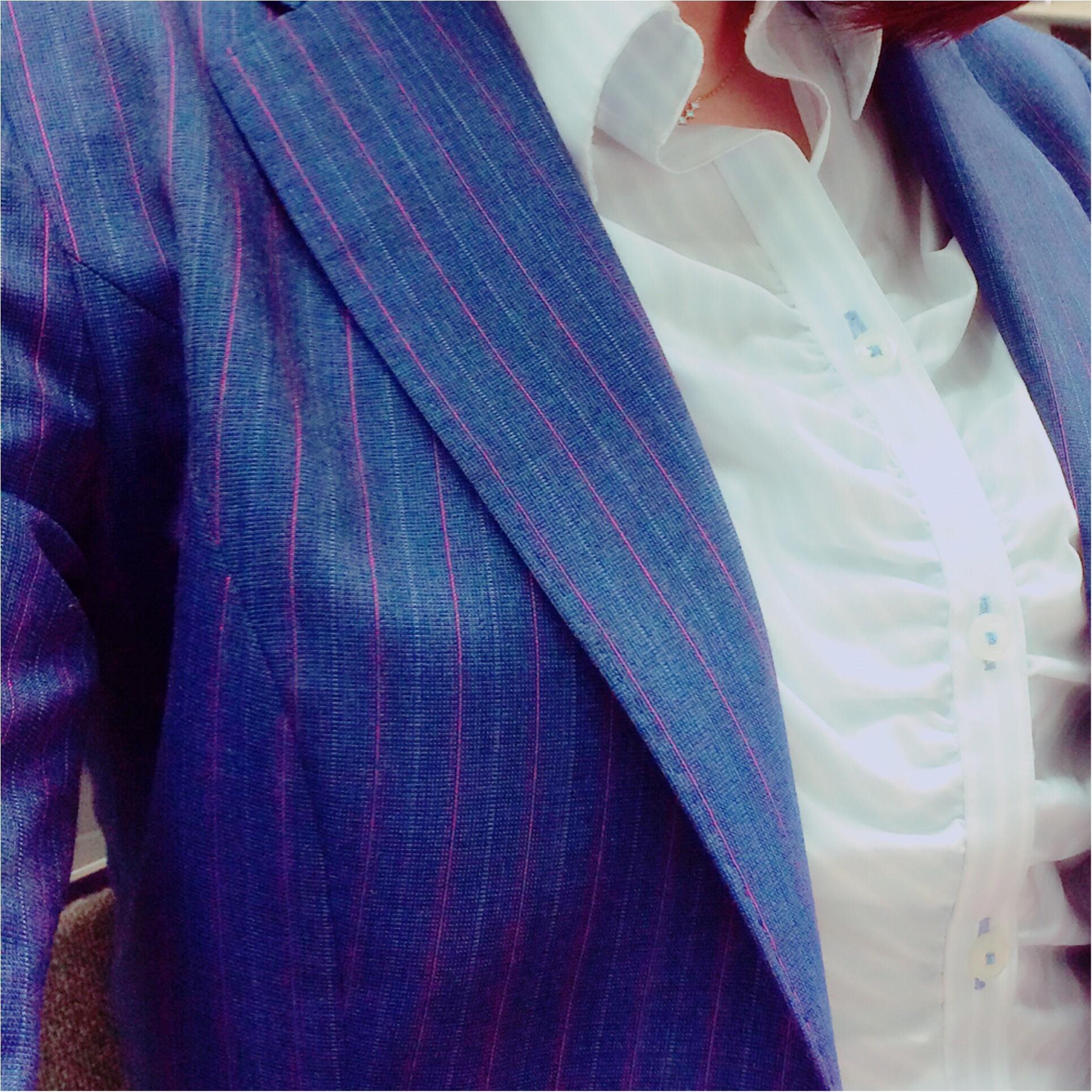 ★おニューのスーツは背筋がシャン!とする★_4