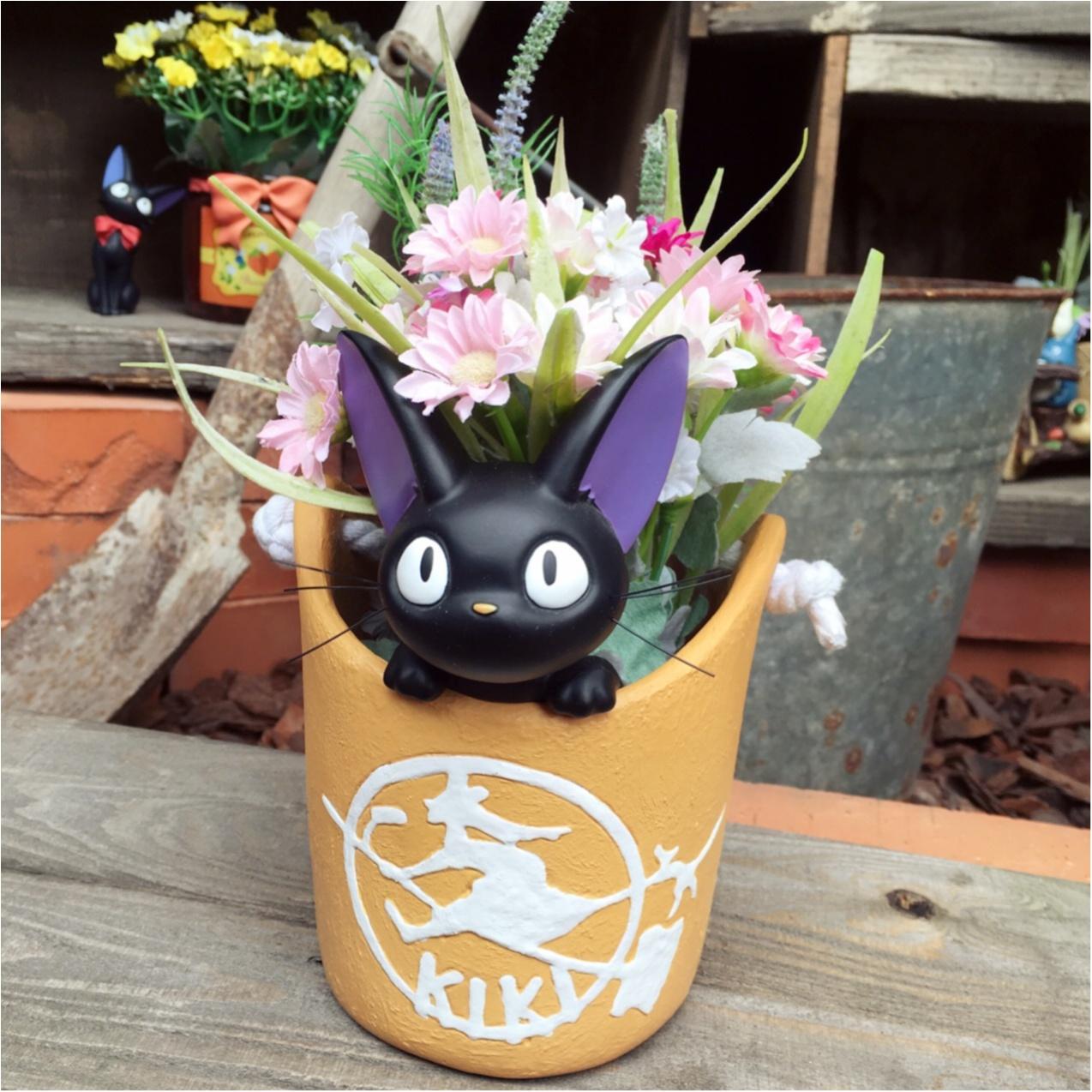 かわいいジブリの世界とお花に癒される…♡_1