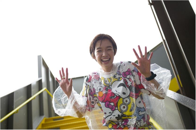 栞里、ユニバーサル・スタジオ・ジャパンで空を飛ぶ!【連載オフショット】_8
