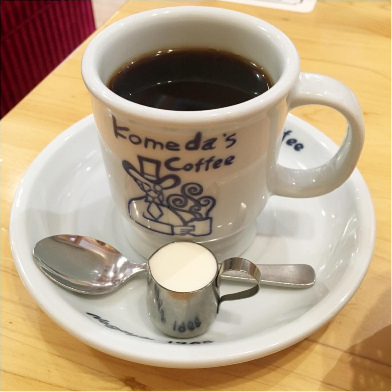 朝カフェしちゃおう♡《 コメダ珈琲 》のモーニングが美味しくてお得♡_4