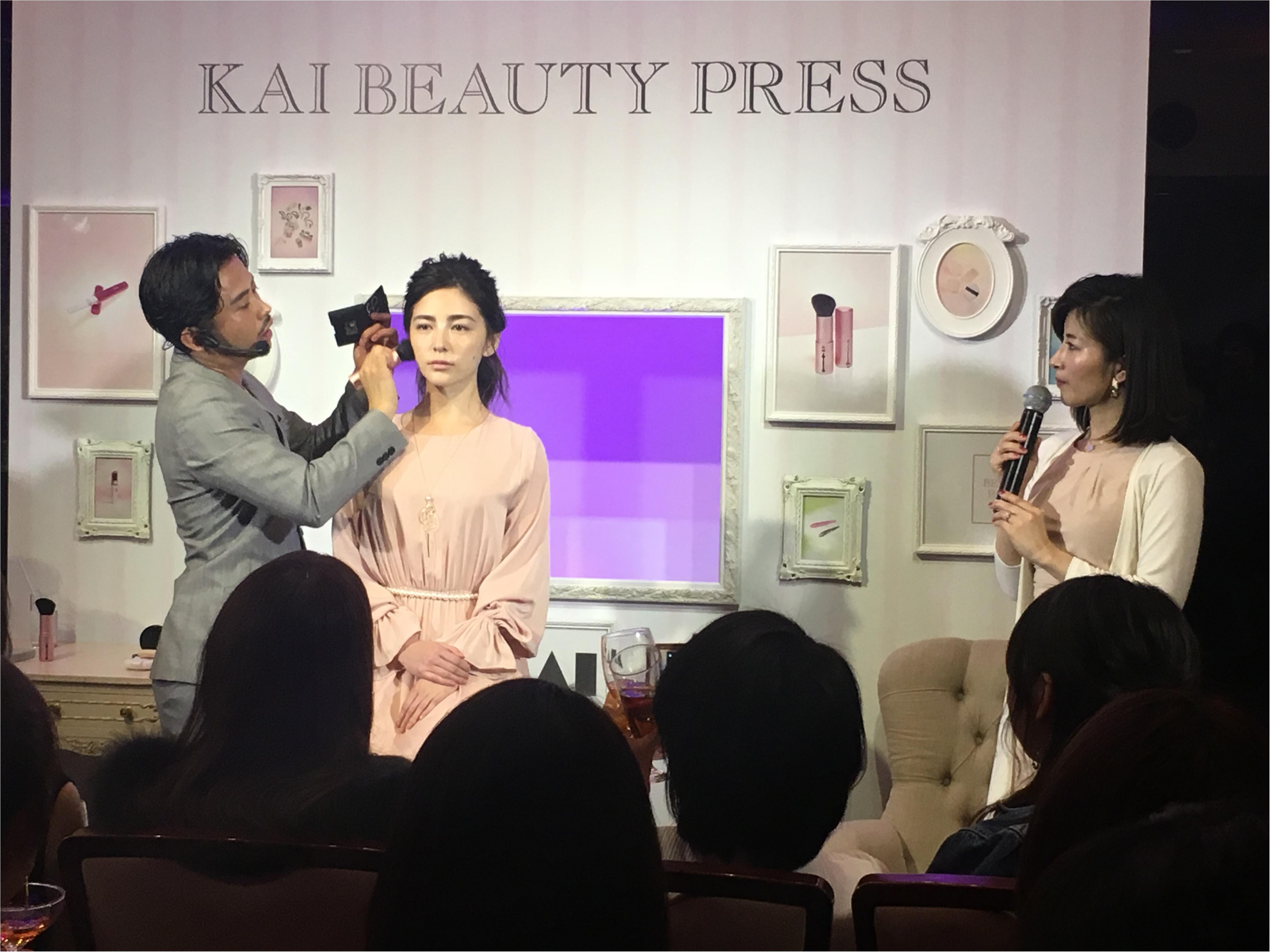『貝印』シークレットイベント「KAI BEAUTY PARTY」にライターゆうりが潜入! そこは桜舞うスペシャルな空間♡_5