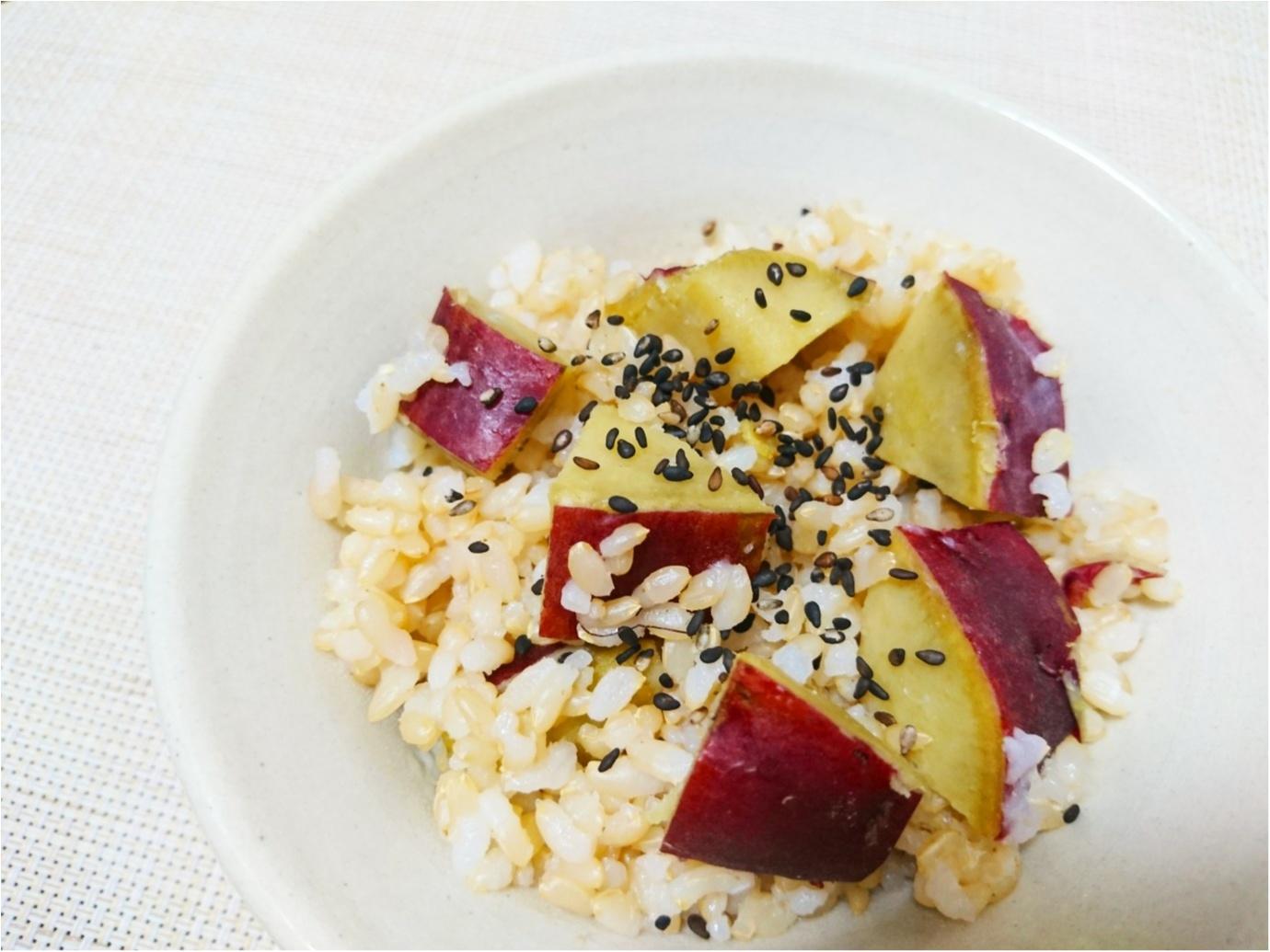 """【クッキング】""""旬"""" だからこそ、美味しさ倍増 ♪ 10月13日は『さつまいもの日』簡単!さつまいもご飯のレシピをご紹介します ★_2"""