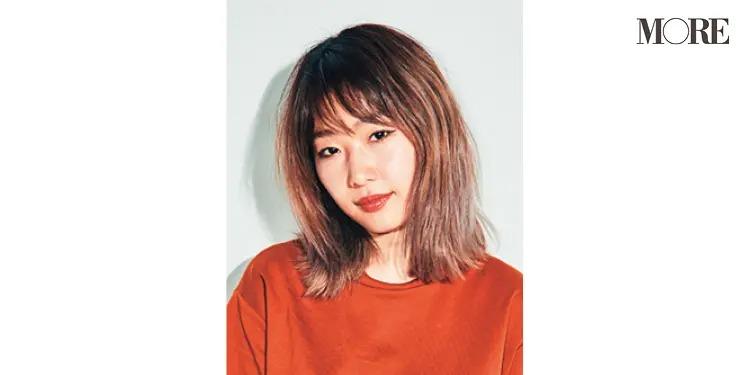 梅雨のヘアアレンジを教えるヘア&メイク 林 由香里さん