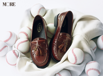 20代のワードローブに加えたい靴。『トッズ』のタッセルローファー