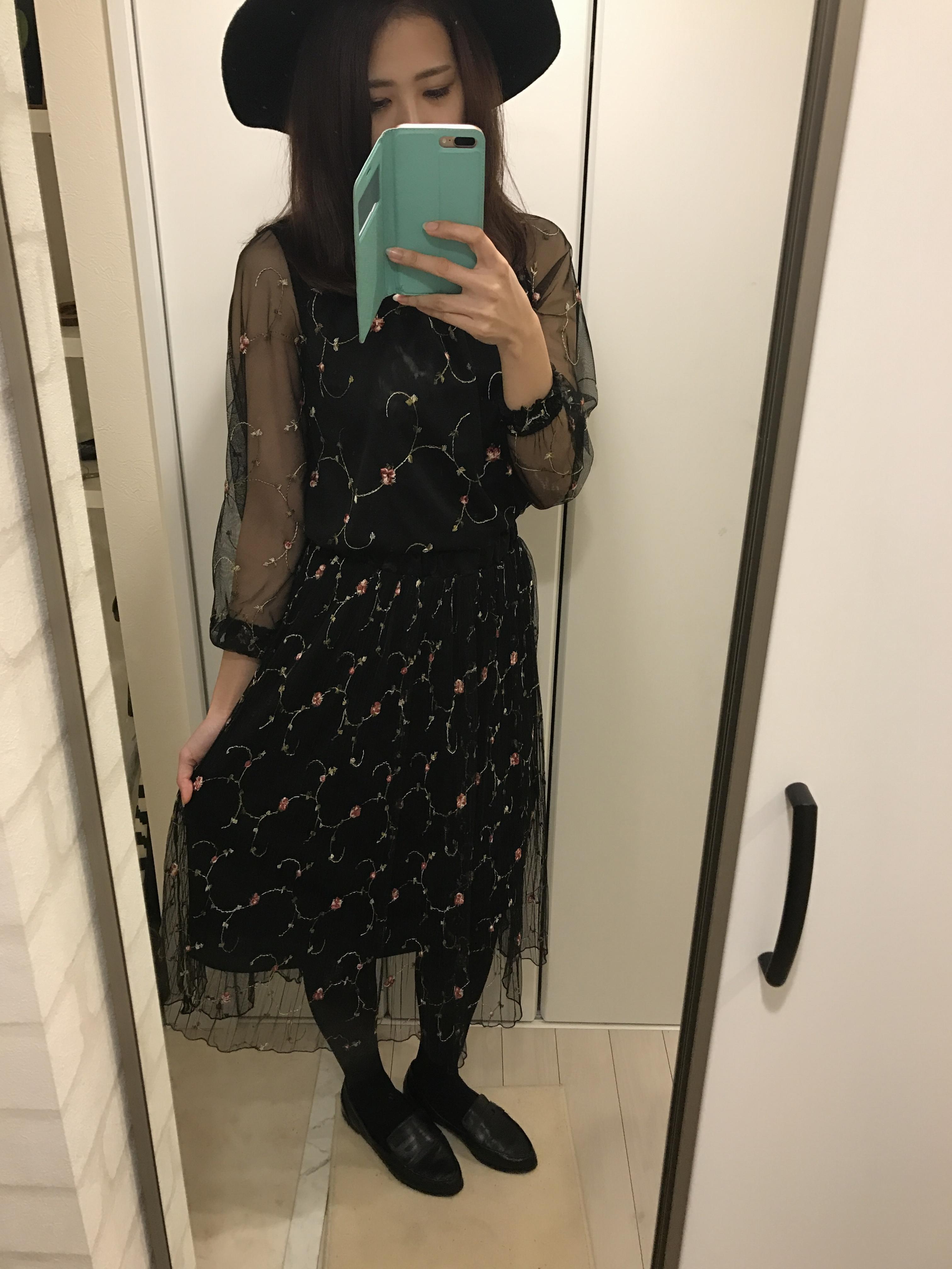 またまたしまむらでプチプラget♡~旬な刺繍ワンピース♡なんと3way~_1