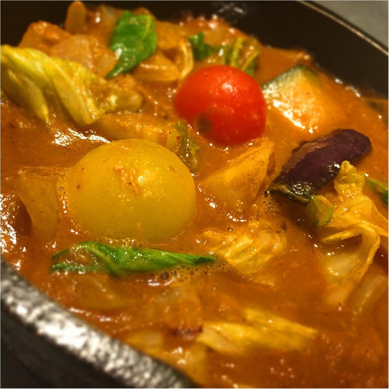 旬の野菜が350g✨✨キャンプ気分を味わえる【*野菜を食べるカレー屋さん*】で1日分の野菜をチャージ♪♪_4