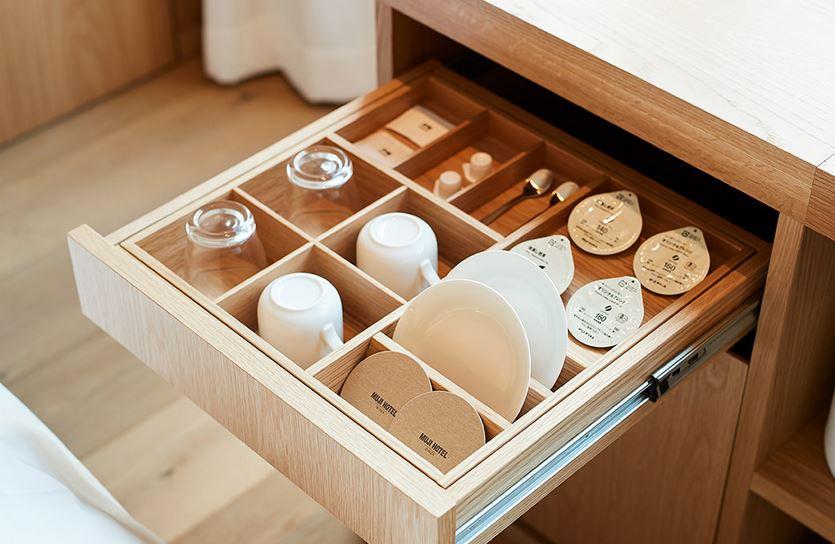 『MUJI HOTEL GINZA』の9タイプの客室、全部見せます♡ 家具からベッド、食器まで。無印良品の名品が使える試せる買える「無印良品 銀座」!_6